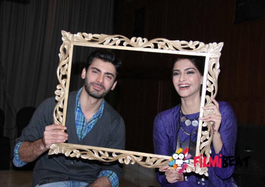 Sonam Kapoor & Fawad Khan Promotes Khoobsurat Movie Photos