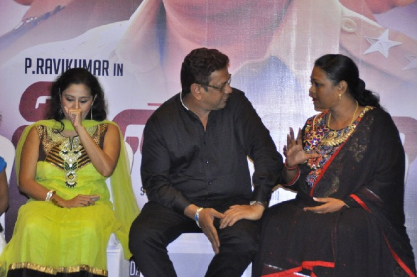 Unmai Press Meet Photos