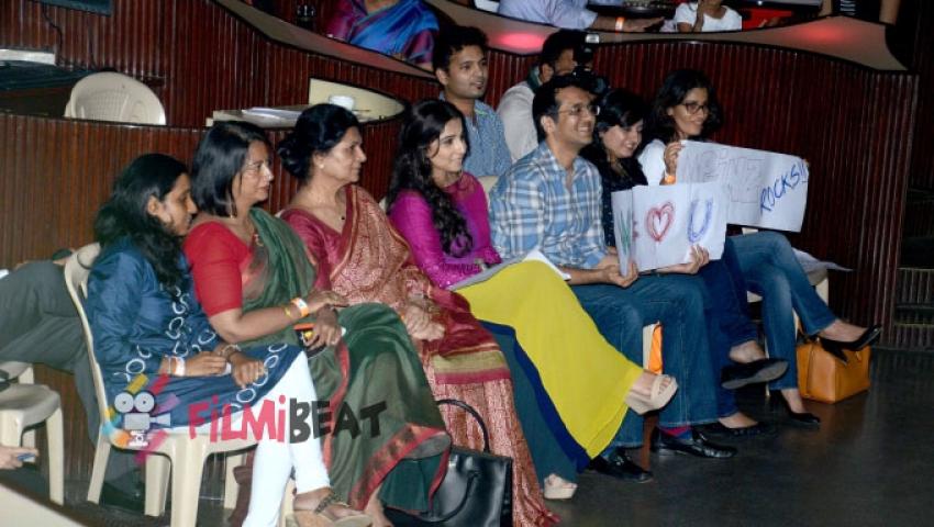 Vidya Balan Attends Charity Music Concert Photos