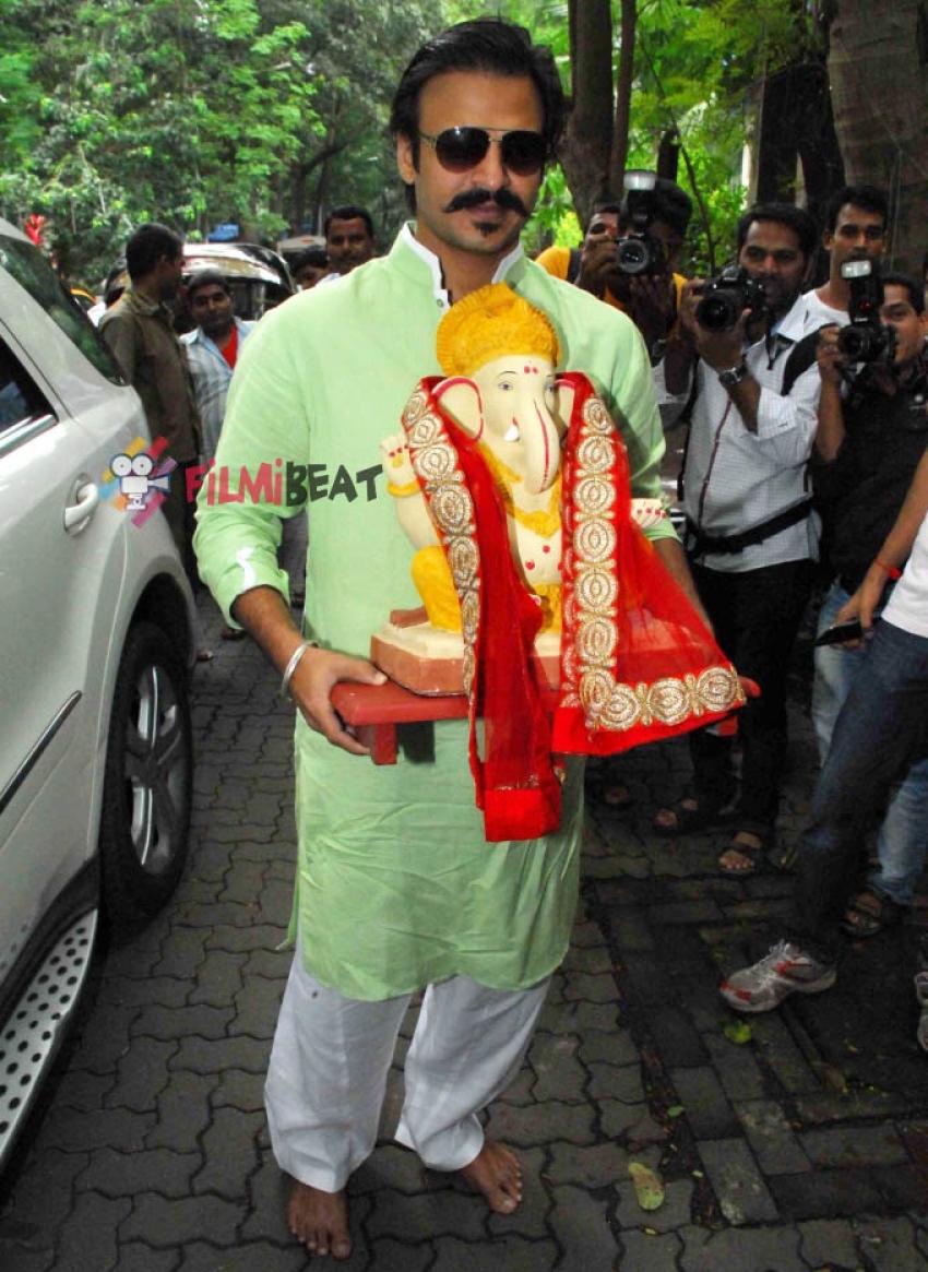 Bollywood Celebs Celebrate Ganesh Chaturthi 2014 Photos