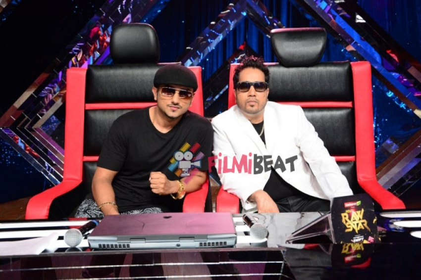 Mika Singh on The Sets India's Raw Star Photos