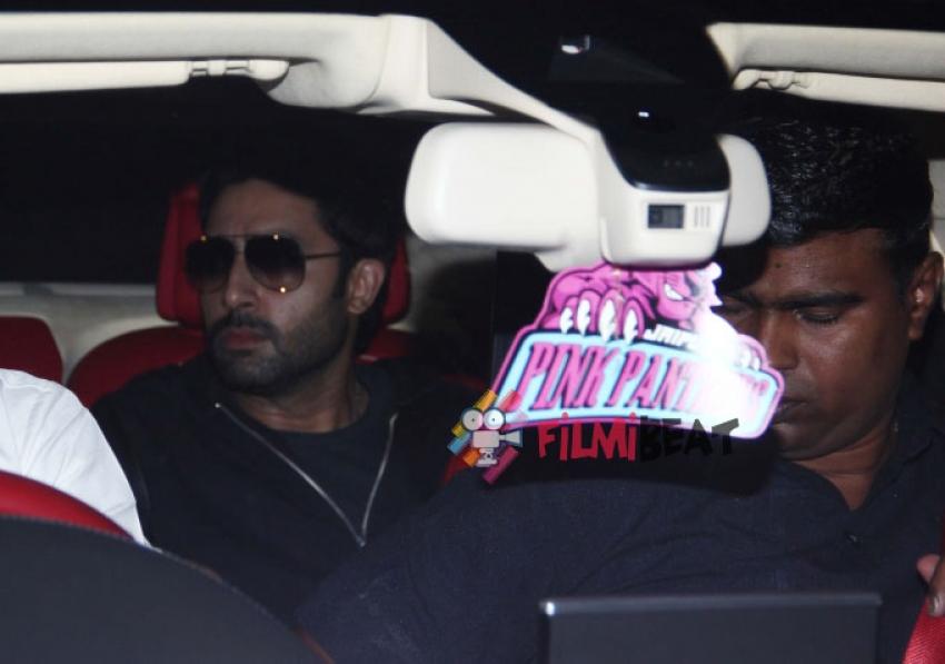 SRK, Deepika and Abhishek Snapped At International Airport Photos