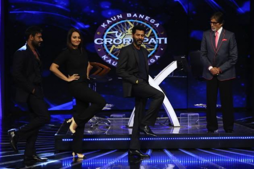 Action Jackson Promotion On The Sets Of KBC Photos
