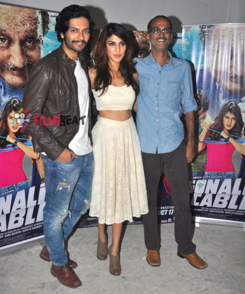 'Sonali Cable' Film Media Interactions Photos