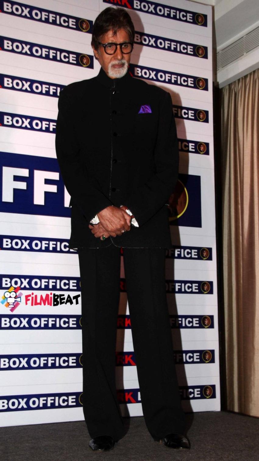 Amitabh Bachchan Launches KRKBoxoffice.com Photos