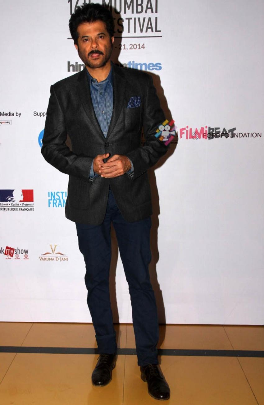 Anil Kapoor And Jackie Shroff At 16th Mumbai Film Festival Photos