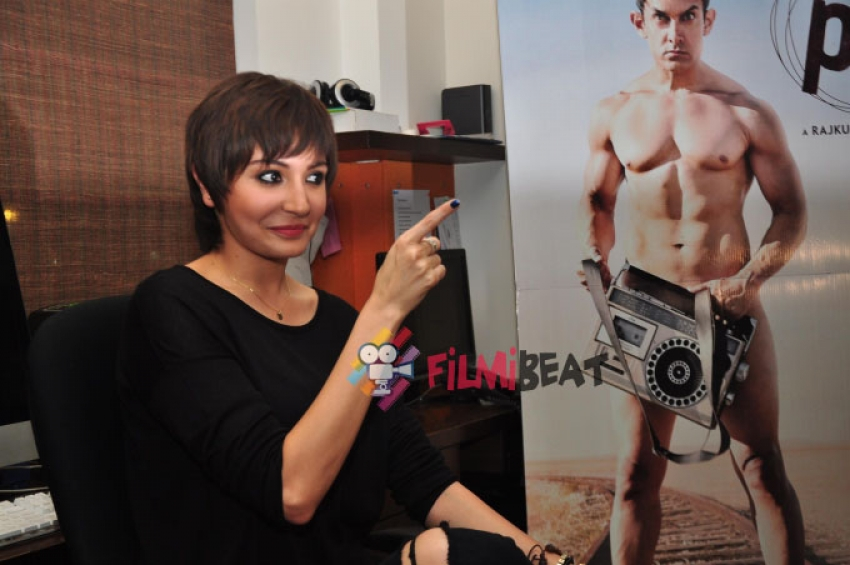 Anushka Sharma Launches New Poster Of PK Photos