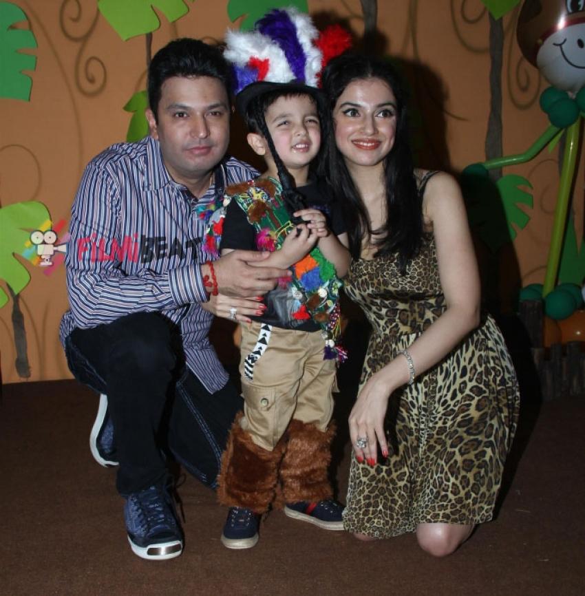 Bhushan Kumar's Son Ruhaan Kumar Birthday Party Photos