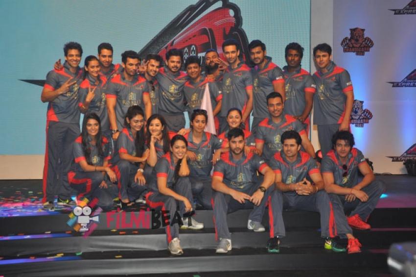 Box Cricket League Press Meet Photos