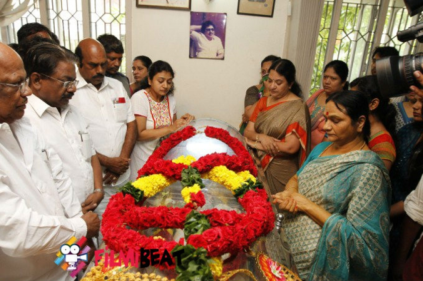 Celebrities Pay Homage to Actor SS Rajendran Photos
