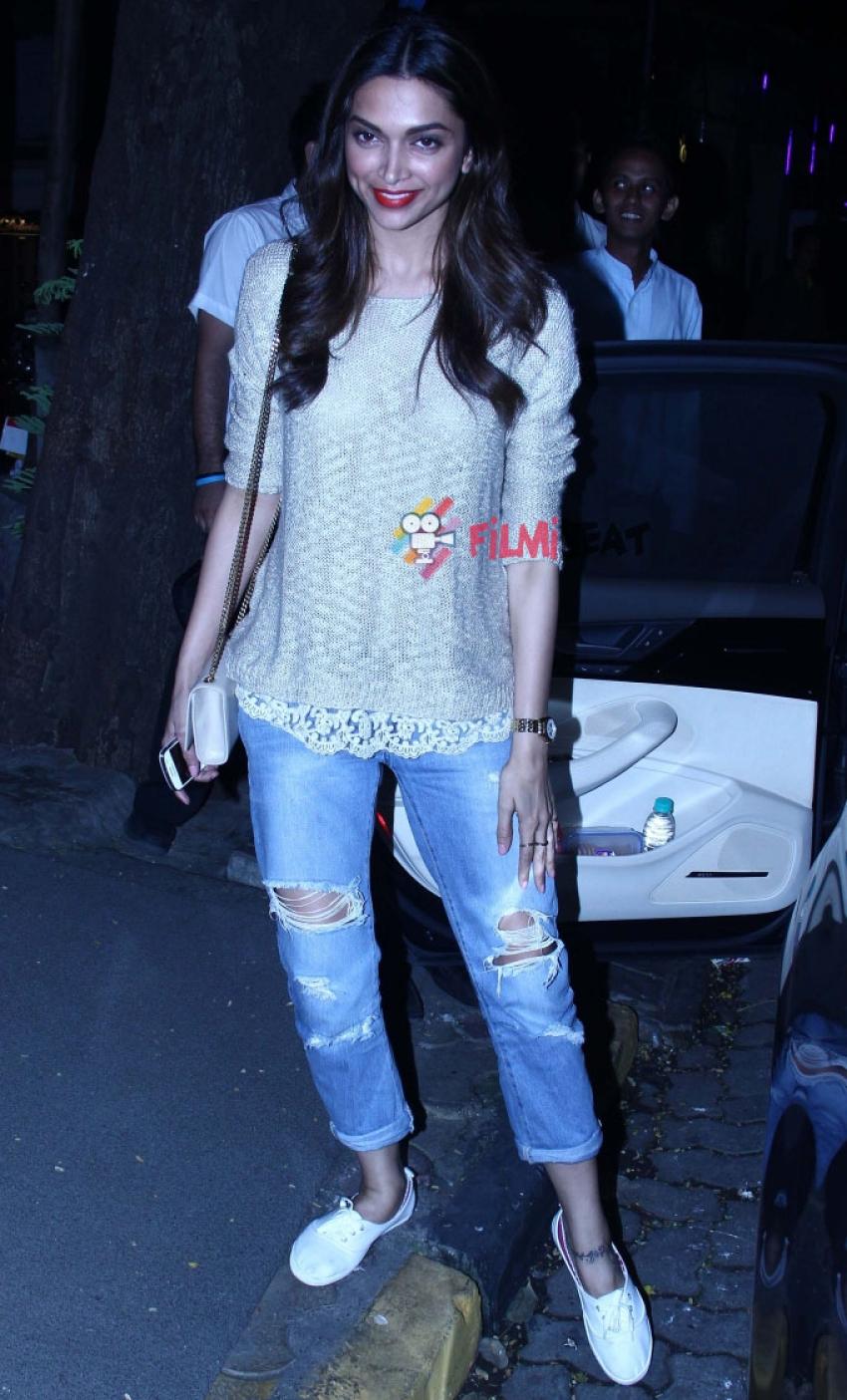 Deepika Padukone Snapped At Nido Photos
