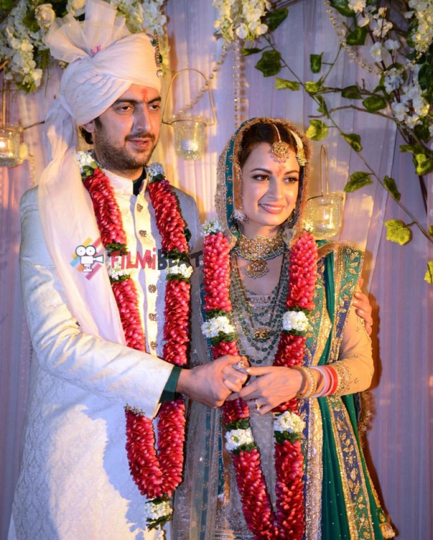 Dia Mirza And Sahil Sangha's Wedding Ceremony Photos