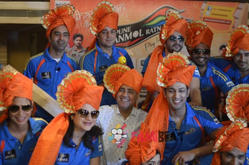 Grand Launch Of Pune Anmol Ratn Team's Jersey Photos