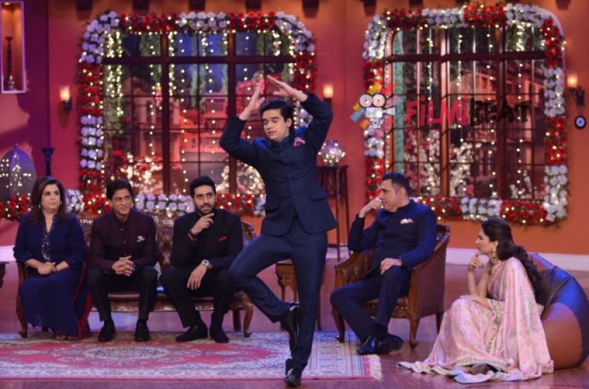 'Happy New Year' Promotion On Comedy Nights With Kapil Photos