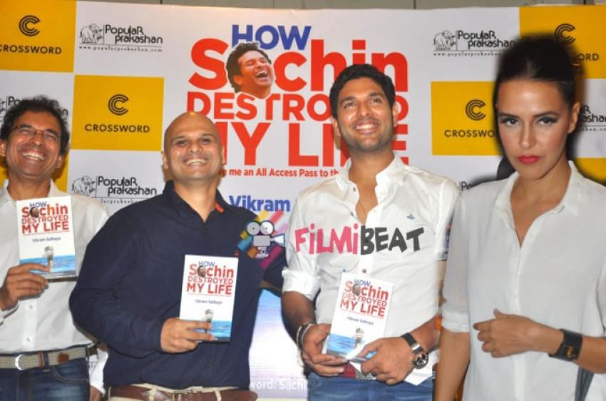 'How Sachin Destroyed My Life' Book Launch Photos