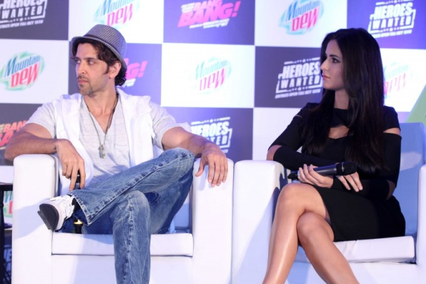 Hrithik And Katrina Launch Mountain Dew's Heroes Wanted Campaign Photos