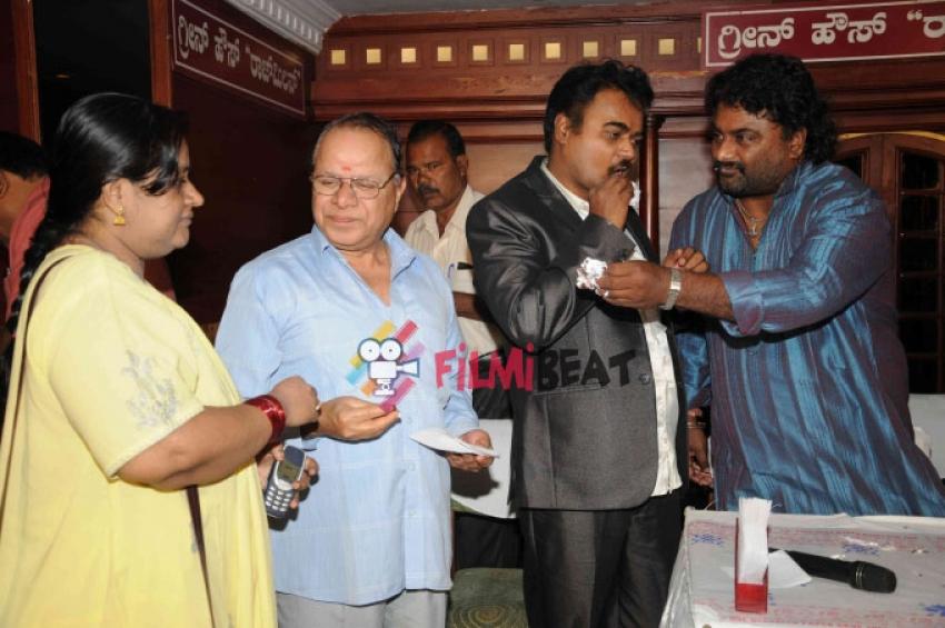 Huccha Venkat Film Press Meet Photos