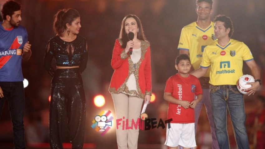 Indian Super League 2014 Opening Ceremony Photos