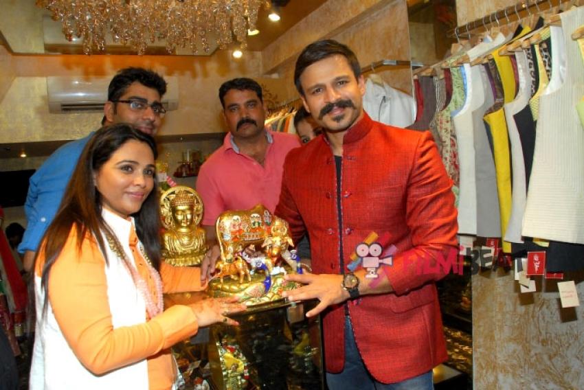 Vivek Oberoi Launches Kirti Rathore's Store Photos