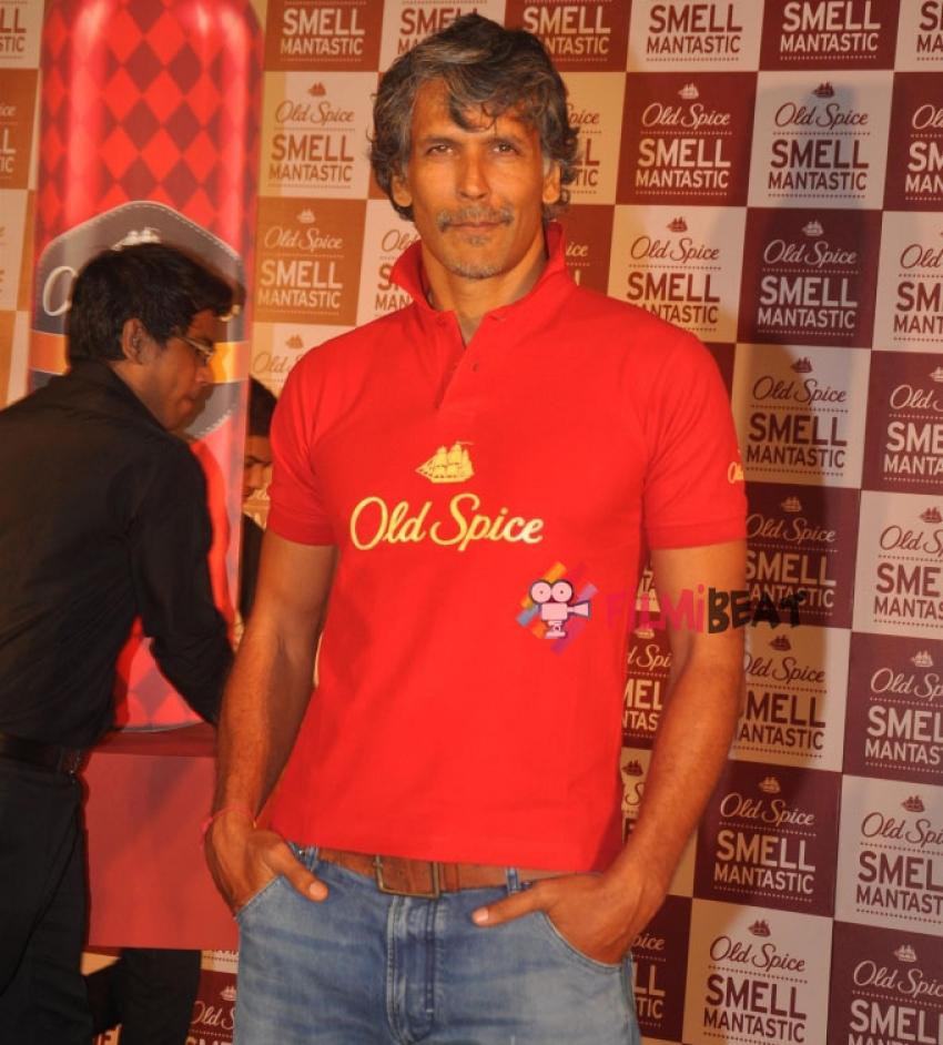 Milind Soman And Randeep Hooda Launch 'Old Spice Deo' Photos