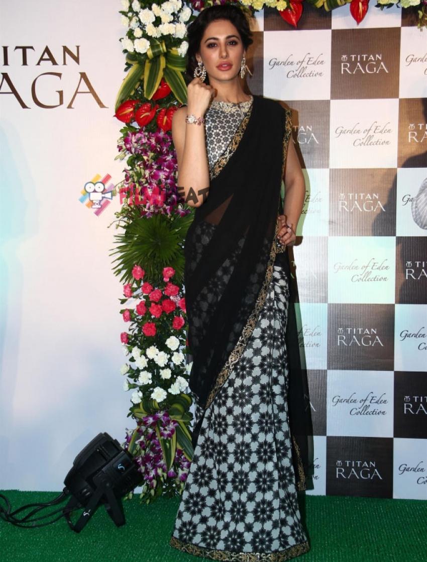 Nargis Fakhri Launches Titan's Latest Collection Photos