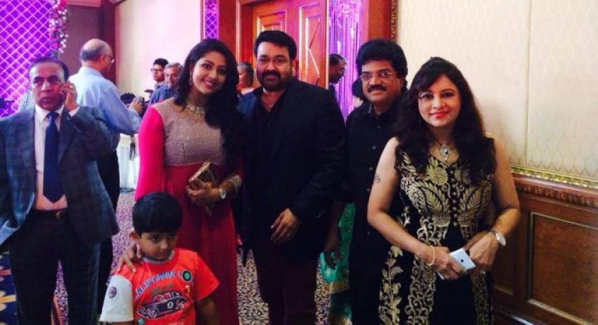 Asianet MD Madhavan Daughter's Reception Photos