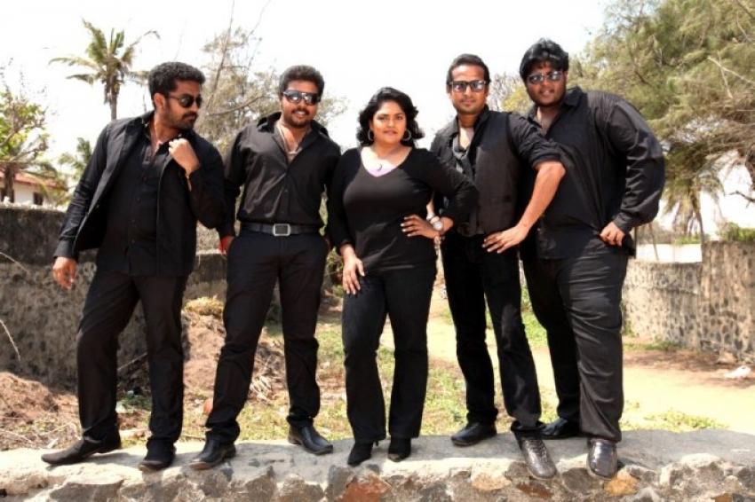 MGR Sivaji Rajini Kamal Photos