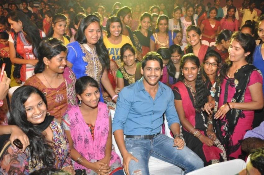 Oka Laila Kosam Movie Audio Success Meet Photos