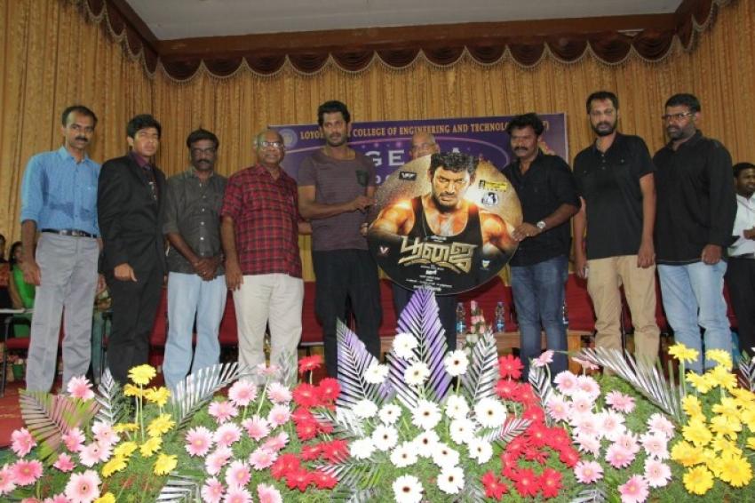 Poojai Audio Launch Photos