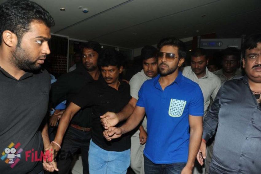 Ram Charan and Samantha launches Asian Cinemas Photos
