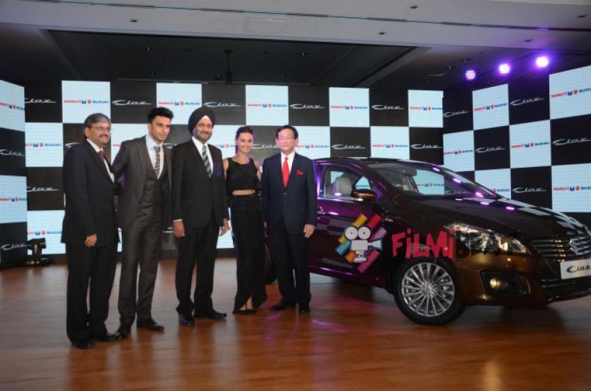 Ranveer Singh Launches Maruti Suzuki's CIAZ Photos