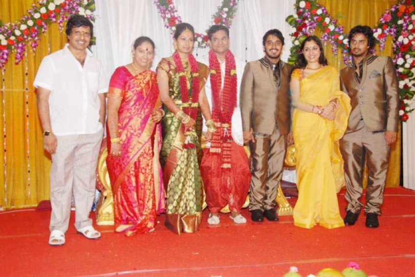 S. Narayan's Daughter Vidya Gets Engaged To Srinivas Photos