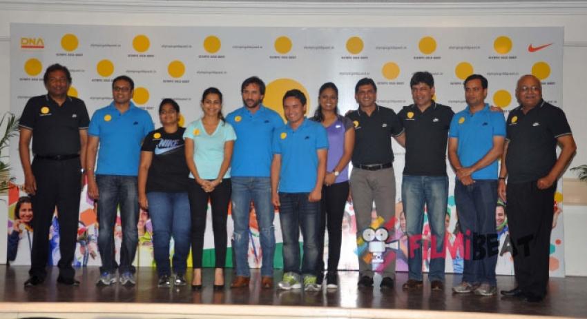 Saif Ali Khan Felicitates Asian Games Medalist Photos