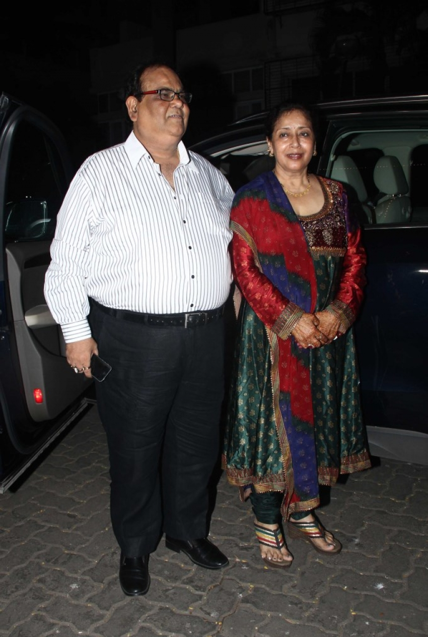Karva Chauth Celebrations At Anil Kapoor House Photos