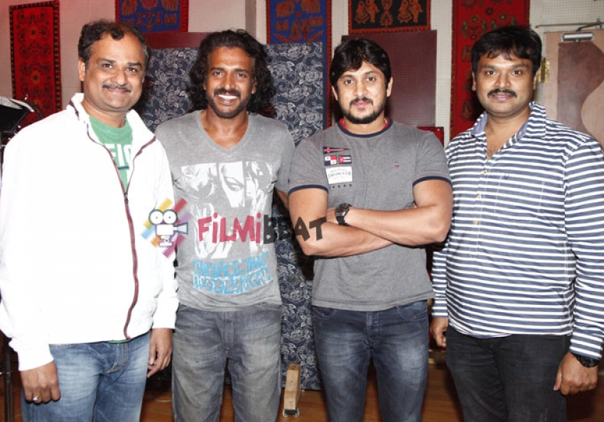 Upendra's Song For 'Krishna Leela' Movie Photos