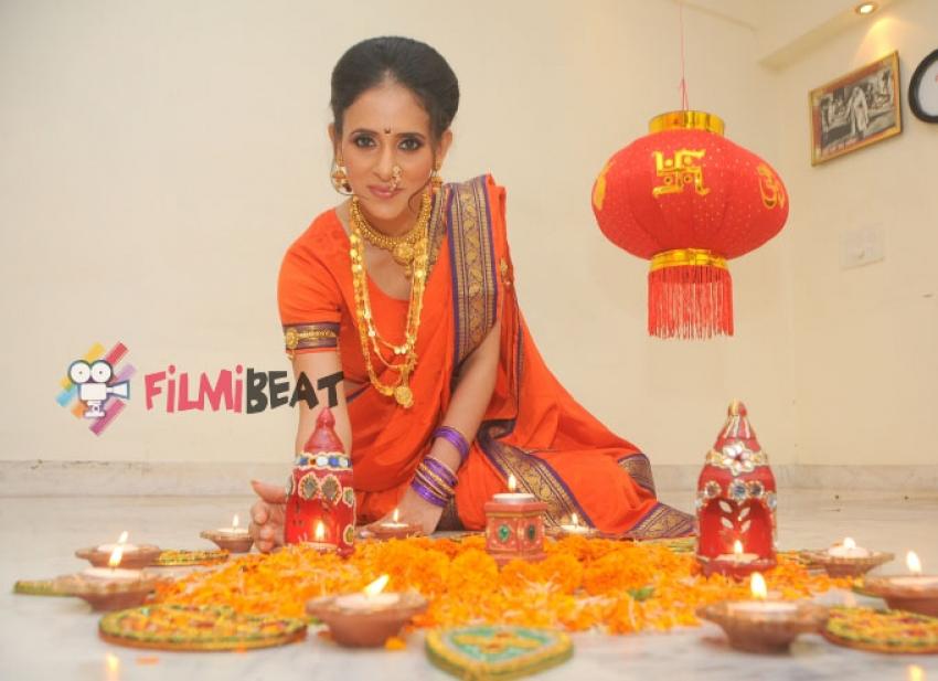 Shweta Khanduri Celebrates Diwali Photos