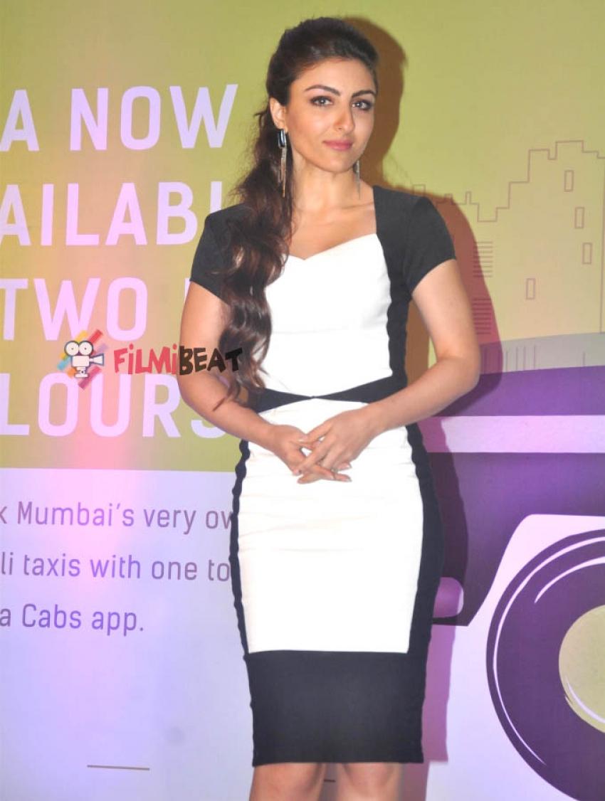 Soha Ali Khan Launches 'Ola' Cabs App Photos