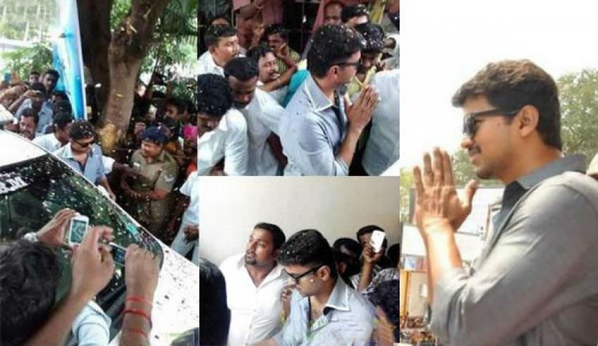Vijay's Kaththi Success Meet In Coimbatore Photos