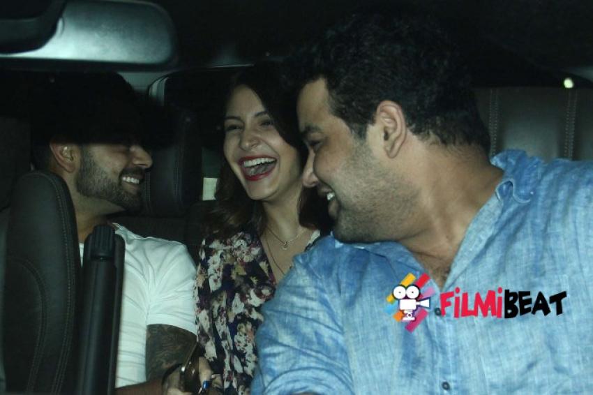 Virat Kohli & Anushka Sharma Snapped At Nido Photos