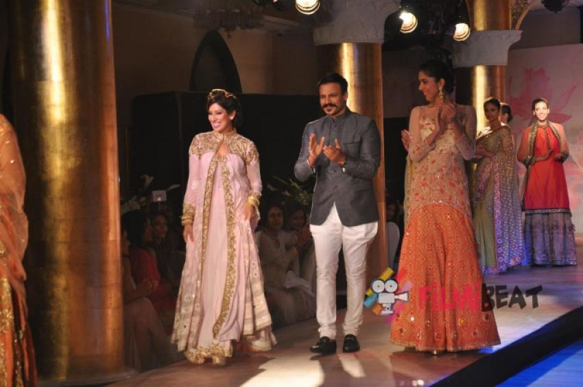 Vivek Oberoi At Maheka Mirpuri's Fashion Show Photos