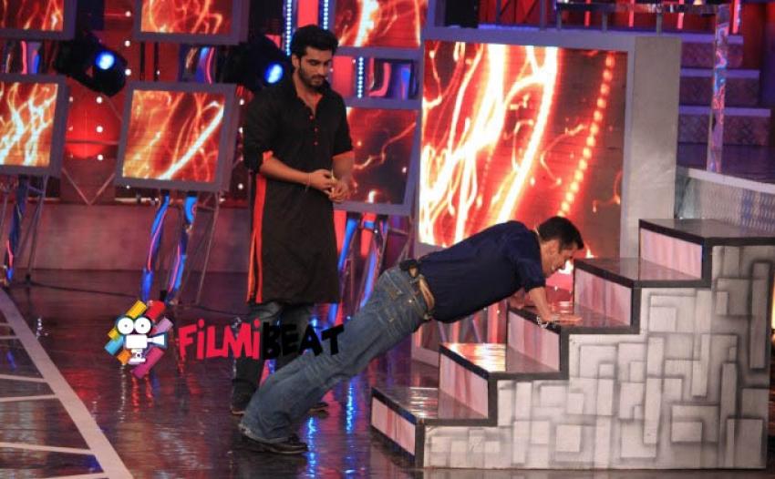 Arjun Kapoor Promotes Tevar at Bigg Boss 8 Photos