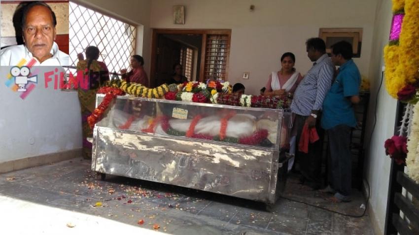 A.R. Raju Funeral Photos