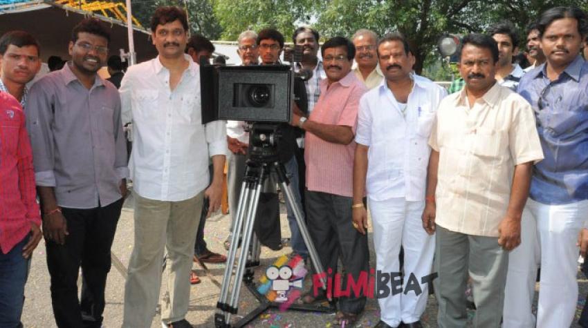 Aame Evaru Movie Launch Photos