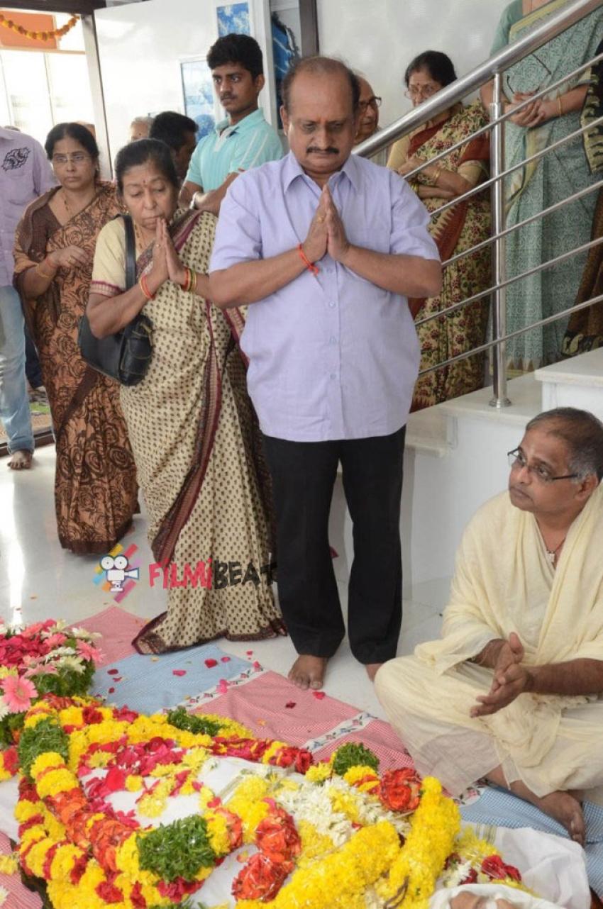 Actress Jamuna's Husband Passes Away Photos