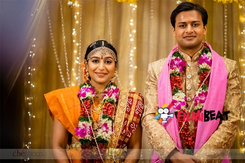 Actress Padmapriya Weds Jasmin Photos