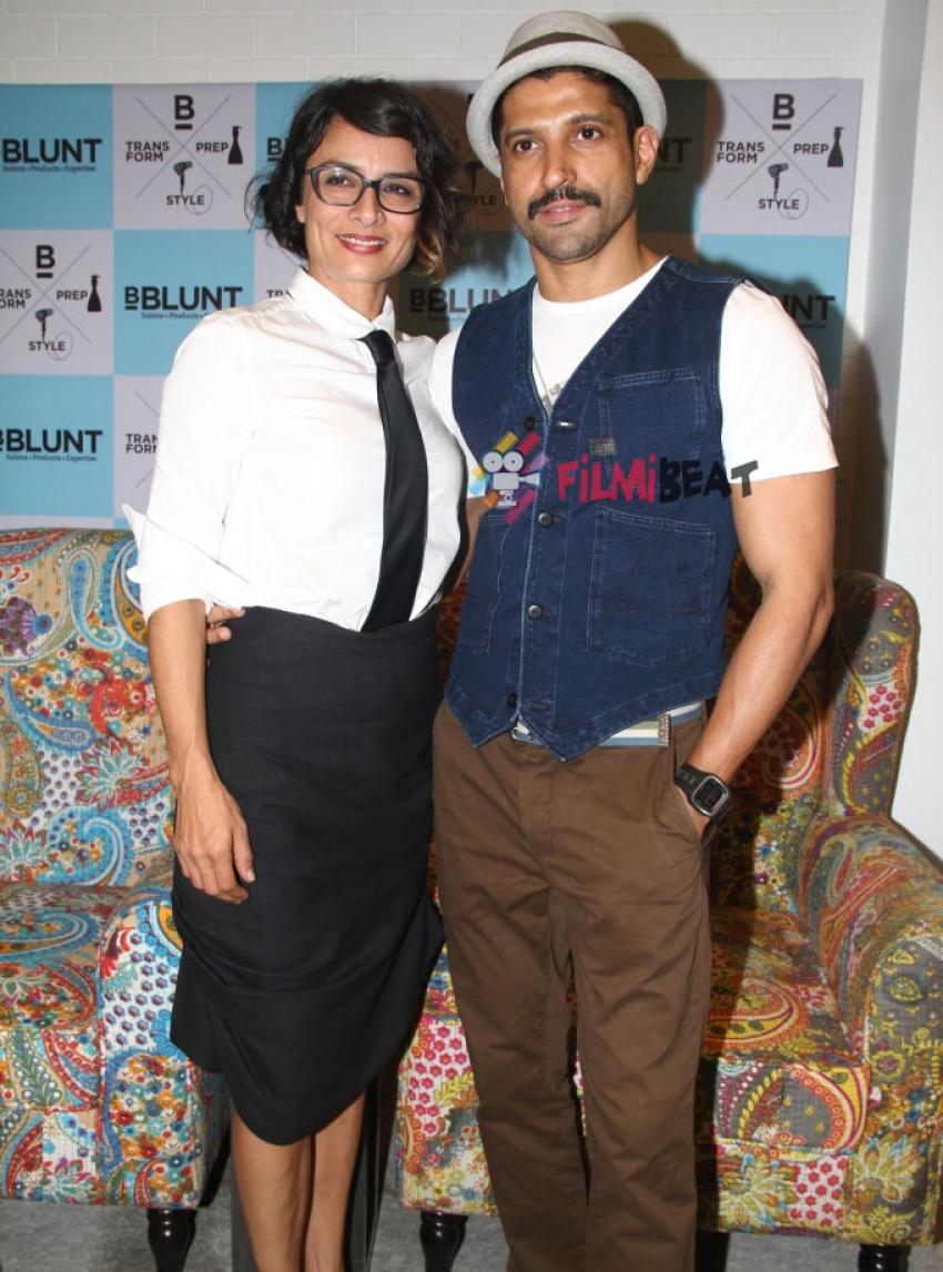 Farhan Akhtar Launches Adhuna Akhtar's Store Photos