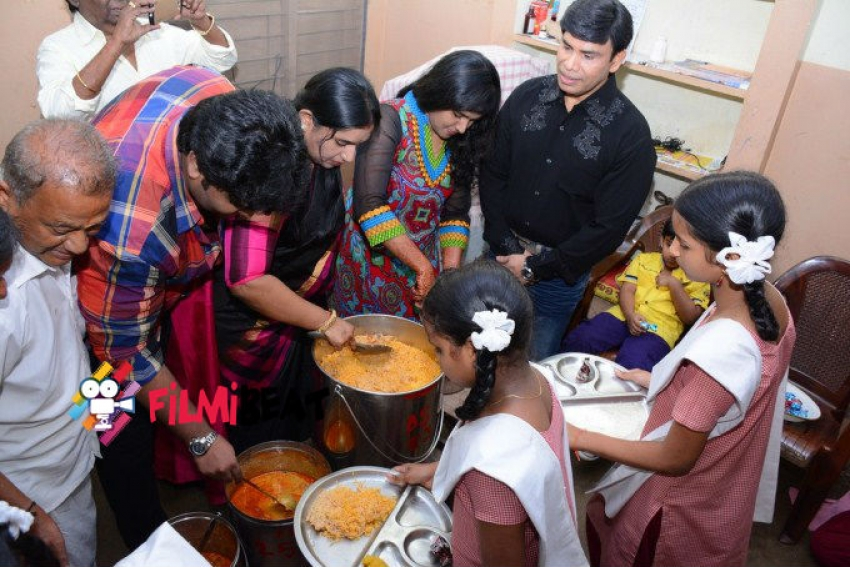 Anandraj Birthday Celebration Photos
