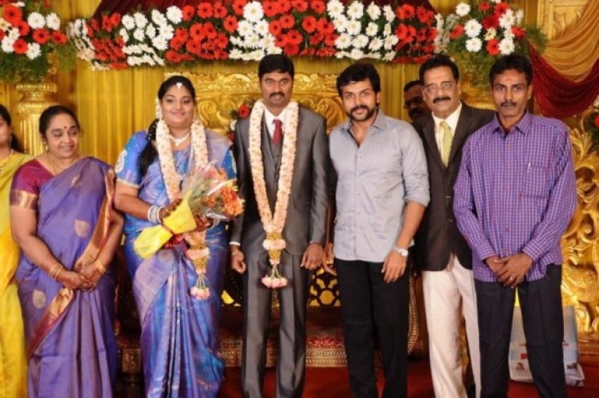 Anbalaya Prabhakaran Daughter Wedding Photos