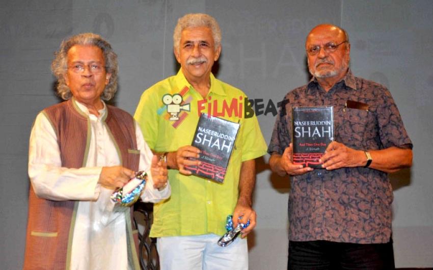Naseeruddin Shah's 'And Then One Day A Memoir' Book Launch Photos