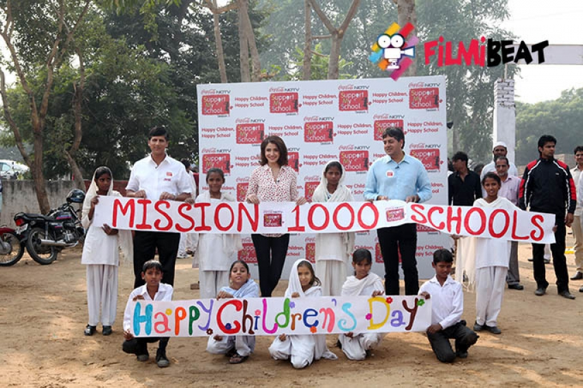 Anushka Sharma Launches Season 3 Of Support My School Campaign Photos
